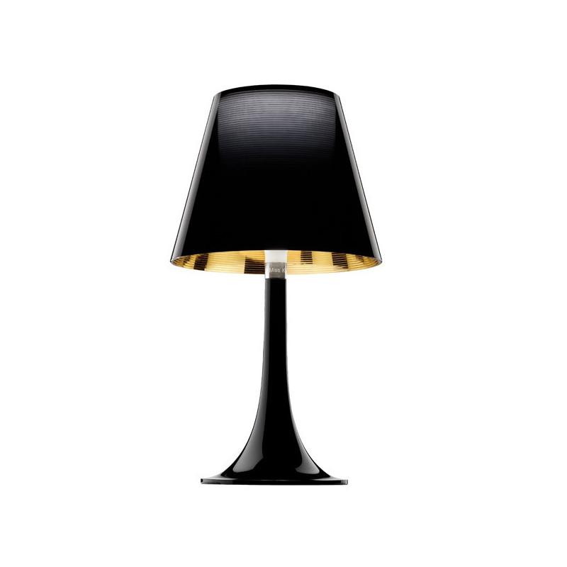 lampe miss k noire par philippe starck flos comptoir des lustres. Black Bedroom Furniture Sets. Home Design Ideas