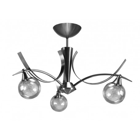 Lustre Oriya 3 lampes 2 finitions