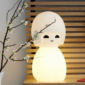 Lampe poupée Kokeshi