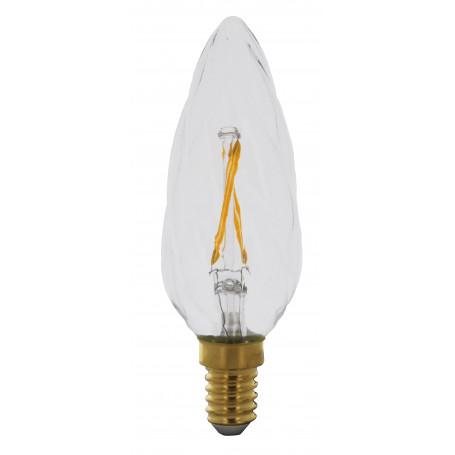 Ampoule LED 2W Flamme torche Claire E14