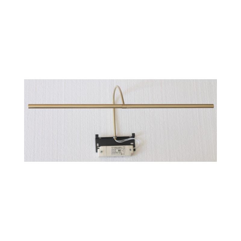 Applique pour tableau à LED Rubis 50 cm Laiton brossé Mauduit-Biard