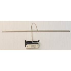 Applique pour tableau à LED Rubis 50 cm Nickel brossé