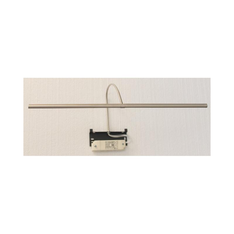 Applique pour tableau à LED Rubis 50 cm Nickel brossé Mauduit-Biard
