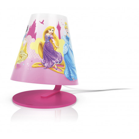Lampe à poser LED Disney Princesses