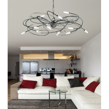 Lustre Miss Irony 12 lampes