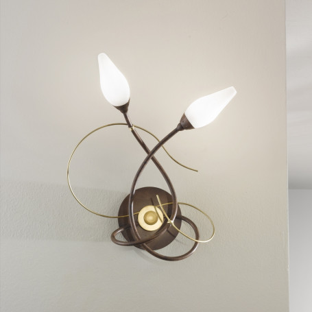 Applique Armonia 2 lampes - 2 finitions