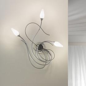 Applique Armonia 3 lampes - 2 finitions