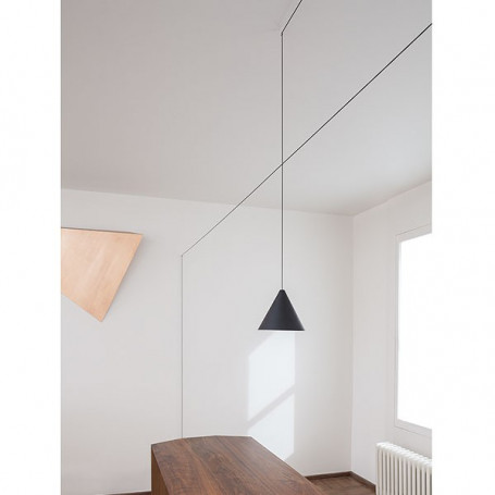 Suspension LED String Light Cône