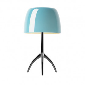 Lampe Lumiere 05 Piccola Turquoise
