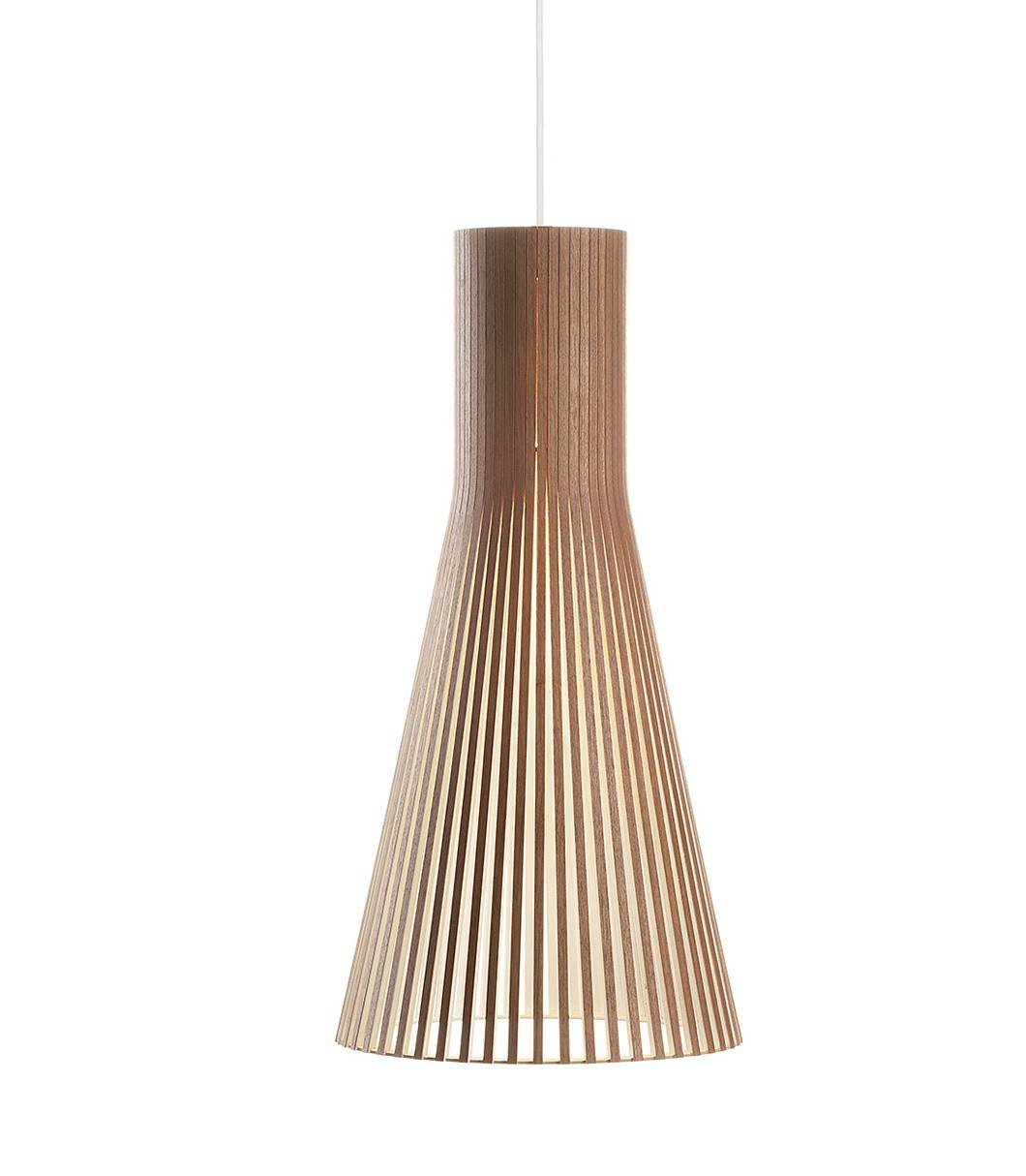 suspension secto 4200 noyer secto design - Luminaire Style Scandinave