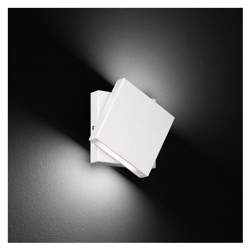 Applique LED pivotante Blanc Trio Leuchten