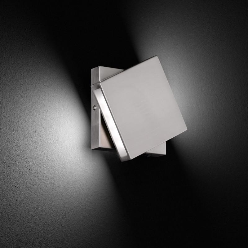 Applique LED pivotante Nickel Trio Leuchten