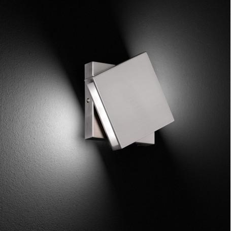 Applique LED pivotante Nickel