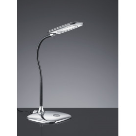 Lampe de bureau LED Polly Chrome