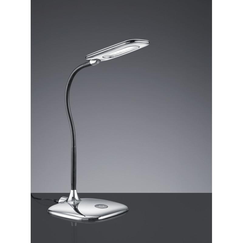 Lampe de bureau LED Polly Chrome Trio Leuchten