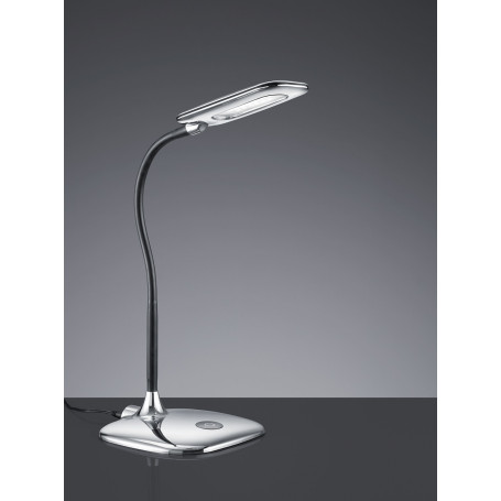 Lampe de bureau LED Polly Chrome