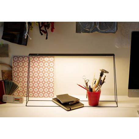Lampe de bureau LED Fine 500 Noir