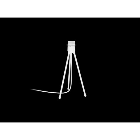 Trépied de lampe Blanc