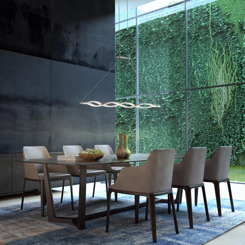 suspension led sahara mantra comptoir des lustres. Black Bedroom Furniture Sets. Home Design Ideas