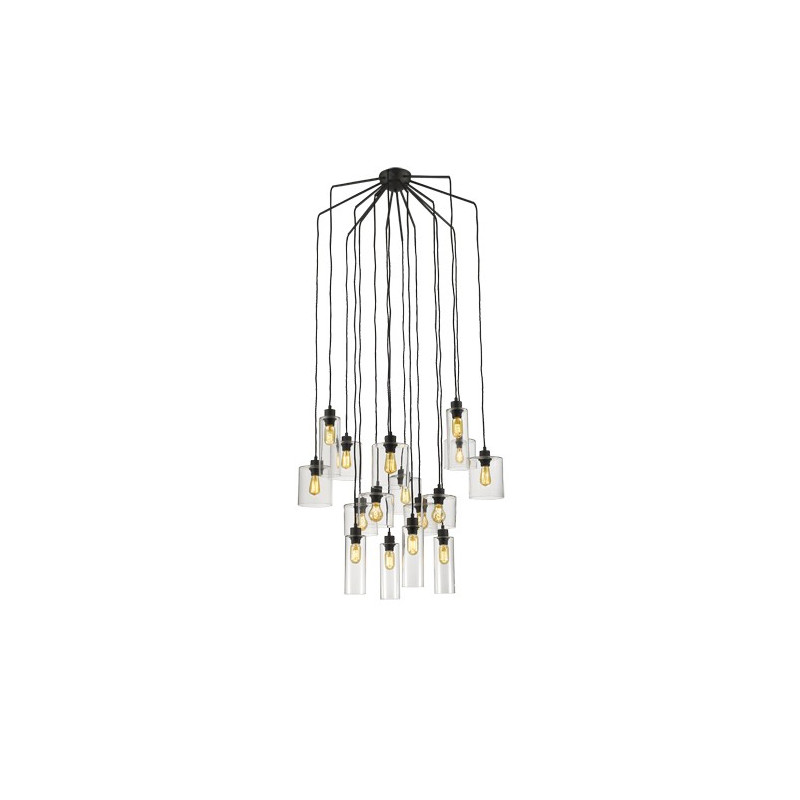 suspension ilo ilo 16 lampes market set comptoir des lustres. Black Bedroom Furniture Sets. Home Design Ideas