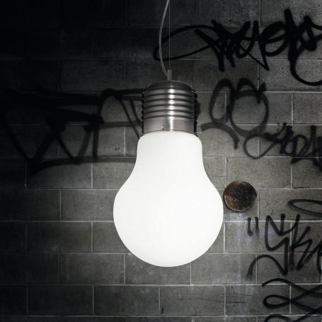 Suspension Ampoule Blanche géante