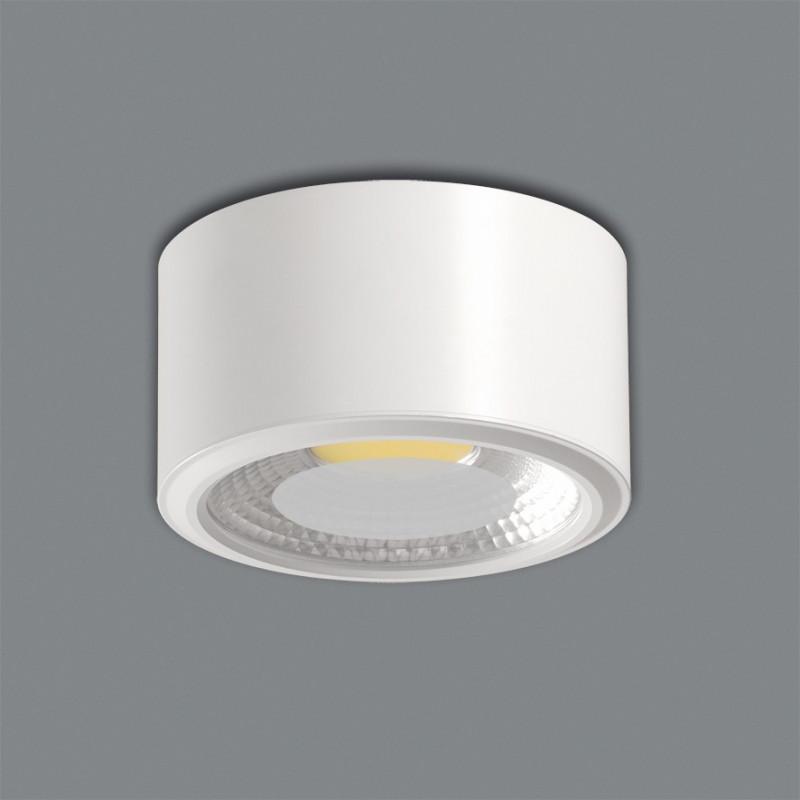 Spot plafonnier à LED Tube 9cm 2 coloris ACB Iluminacion