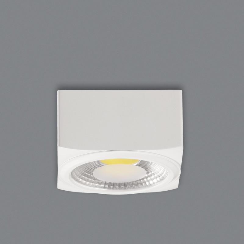 Spot plafonnier à LED Cube 9cm 2 coloris ACB Iluminacion
