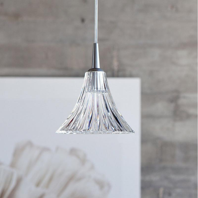 suspension en cristal mille nuits petit mod le baccarat comptoir des lustres. Black Bedroom Furniture Sets. Home Design Ideas