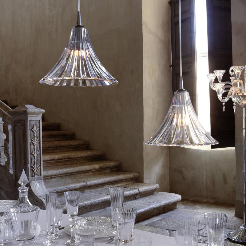 Suspension en cristal Mille Nuits Grand modèle - Baccarat | Comptoir ...