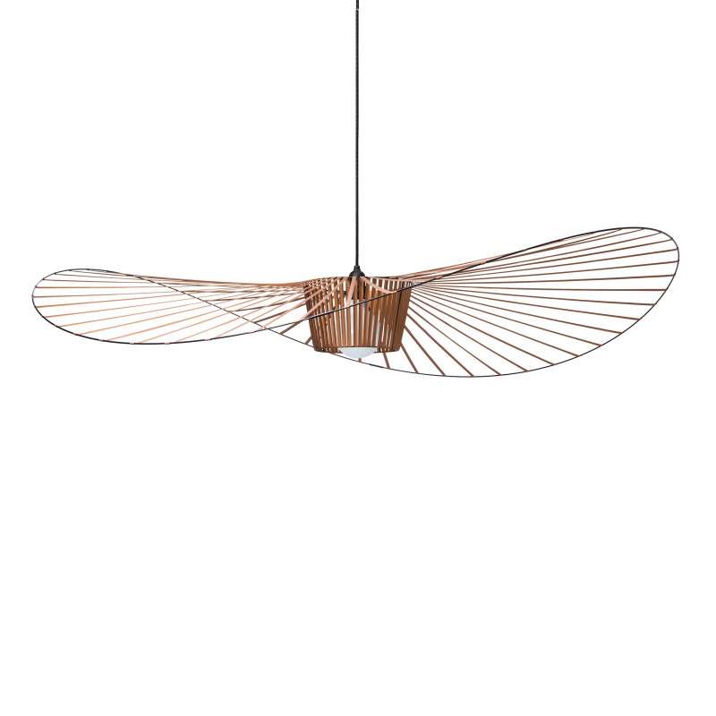 Suspension vertigo grand noir petite friture comptoir for Suspension luminaire filaire