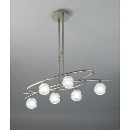 Lustre Loop 6 lampes