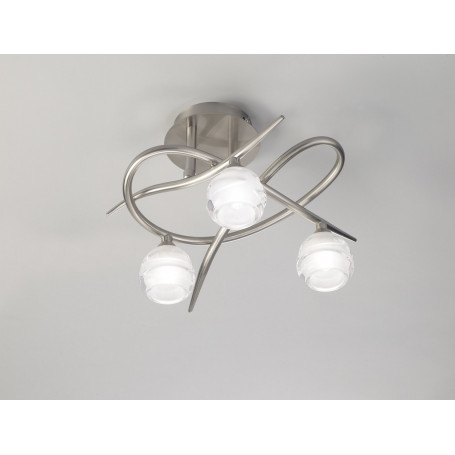 Plafonnier Loop 3 lampes