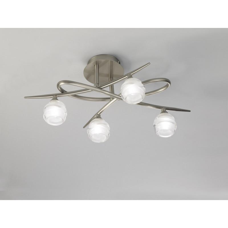 Plafonnier Loop 4 lampes