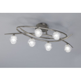 Plafonnier Loop 6 lampes