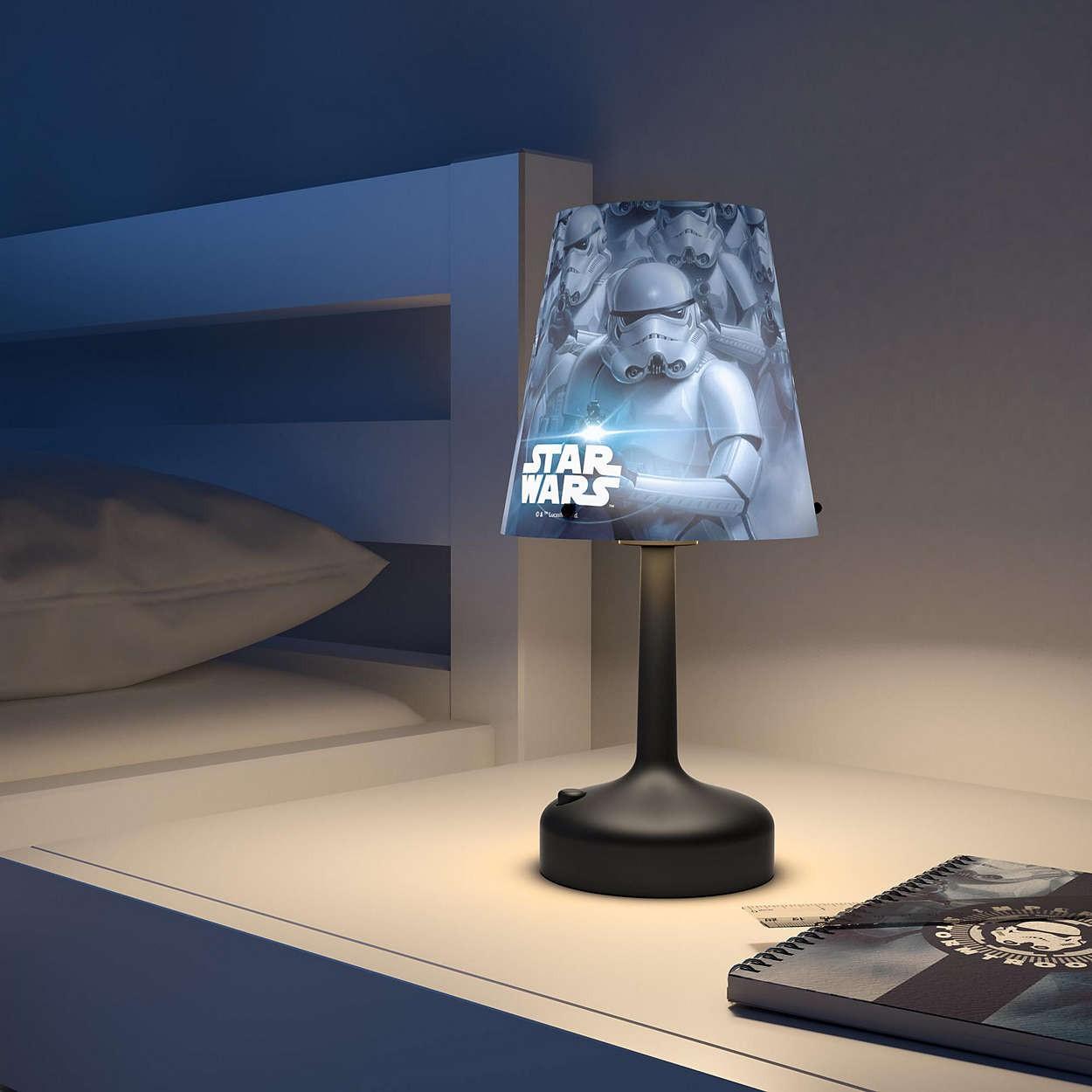lampe à piles led star wars stormtroopers - philips | comptoir des