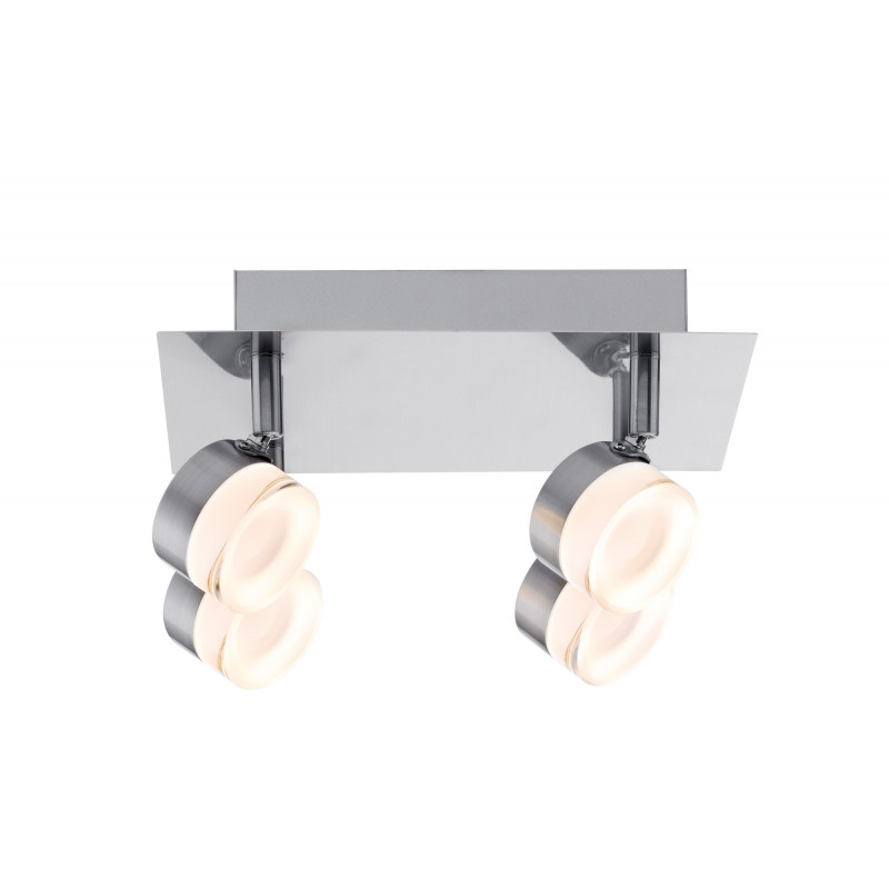 Plafonnier 4 spots LED Slice Paulmann