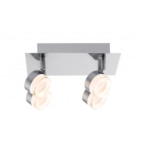 Plafonnier 4 spots LED Slice