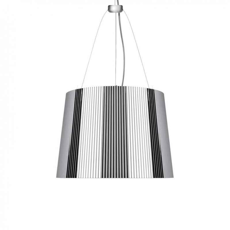 Suspension design ge 39 chrome kartell comptoir des for Lustre kartell
