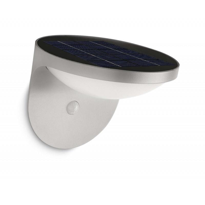 applique d 39 ext rieur led dusk nergie solaire. Black Bedroom Furniture Sets. Home Design Ideas