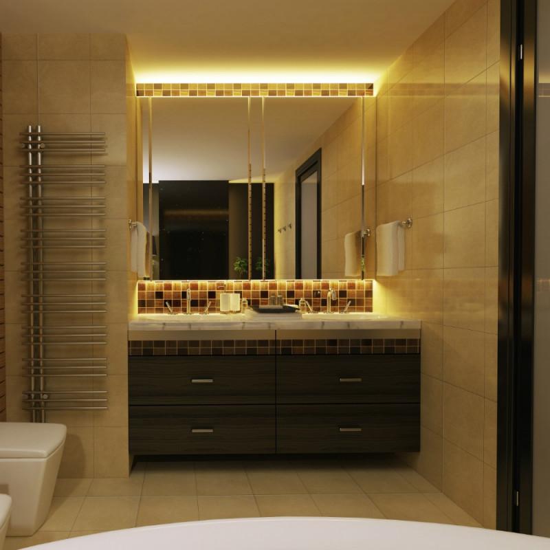 kit ruban led 3m blanc chaud salle de bain exterieur With carrelage adhesif salle de bain avec acheter led à l unité