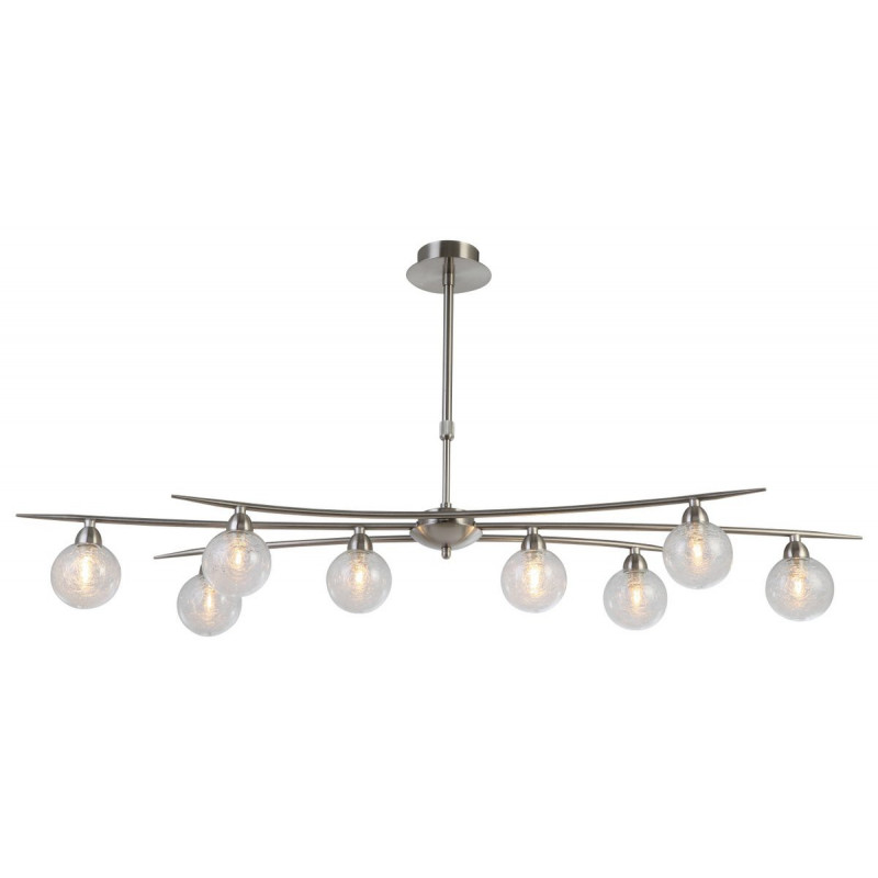 Suspension Snow 8 lampes Ideal Lux