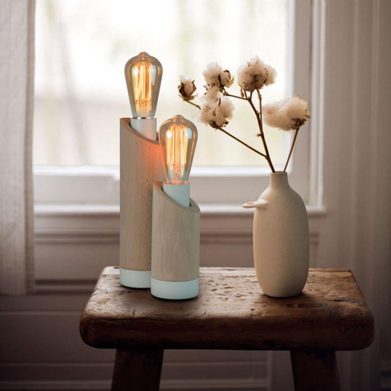 Lampe en bois Pims Petit modèle Luz Eva