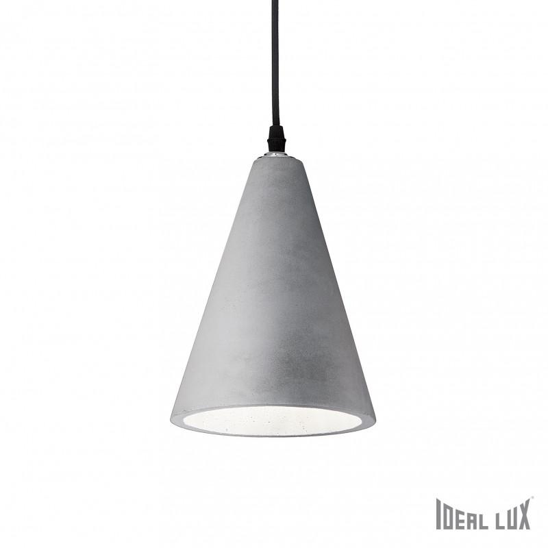 Suspension en béton Oil 2 Ideal Lux