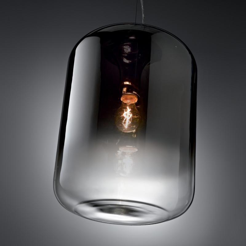 Suspension Ken Fumé 19.5 cm Ideal Lux