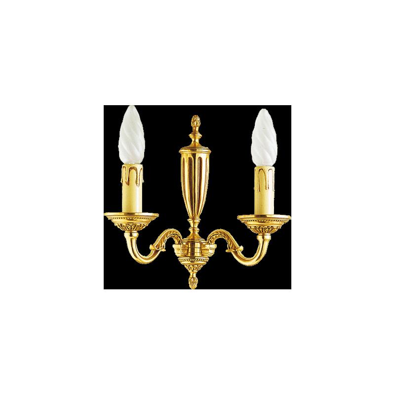 Applique Style Louis XVI 2 lampes Lucien Gau