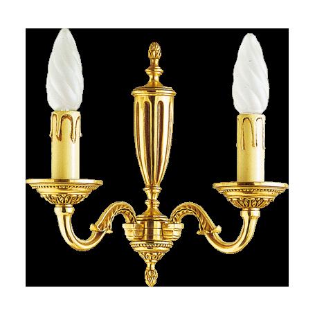 Applique Style Louis XVI - 2 lampes
