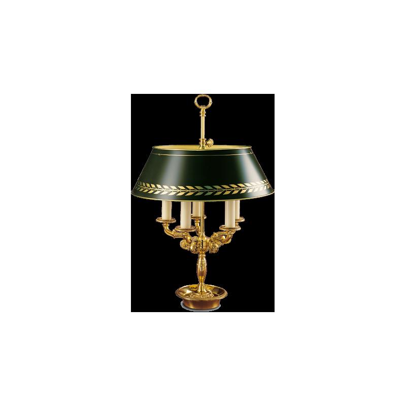 Lampe Bouillotte Style Empire Maison Lucien Gau Comptoir Des Lustres