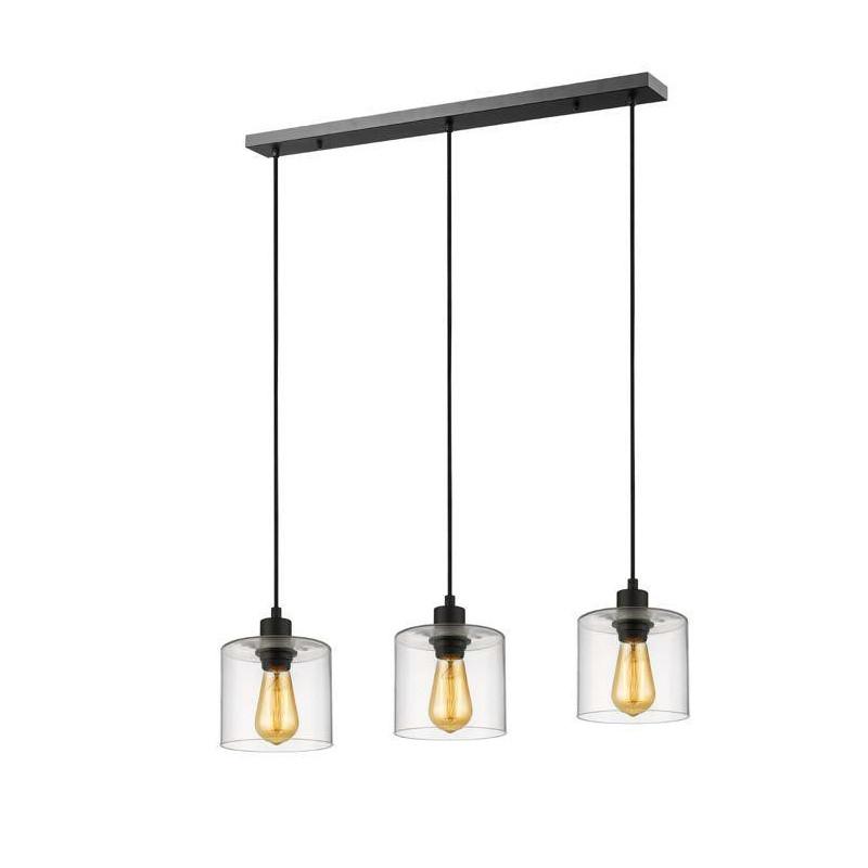 suspension iloilo 3 lampes linéaire  market set