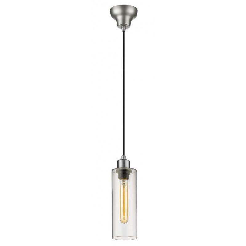 Suspension Ilo-Ilo 1 lampe Nickel satiné Market Set