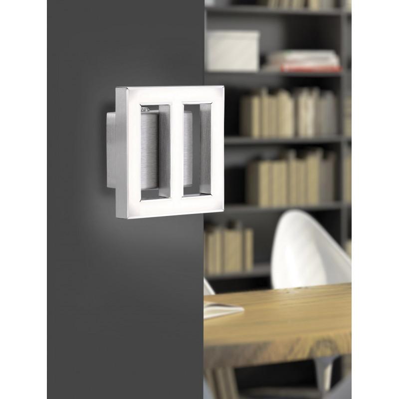 applique murale carr e inigo led paul neuhaus comptoir des lustres. Black Bedroom Furniture Sets. Home Design Ideas